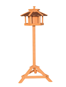Wooden bird station 1101
